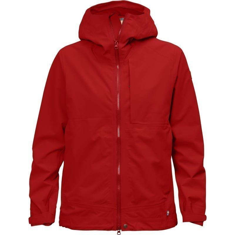Fjällräven Abisko Eco-Shell Jacket W S Red