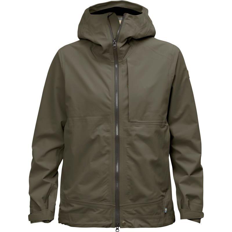 Fjällräven Abisko Eco-Shell Jacket W S Tarmac