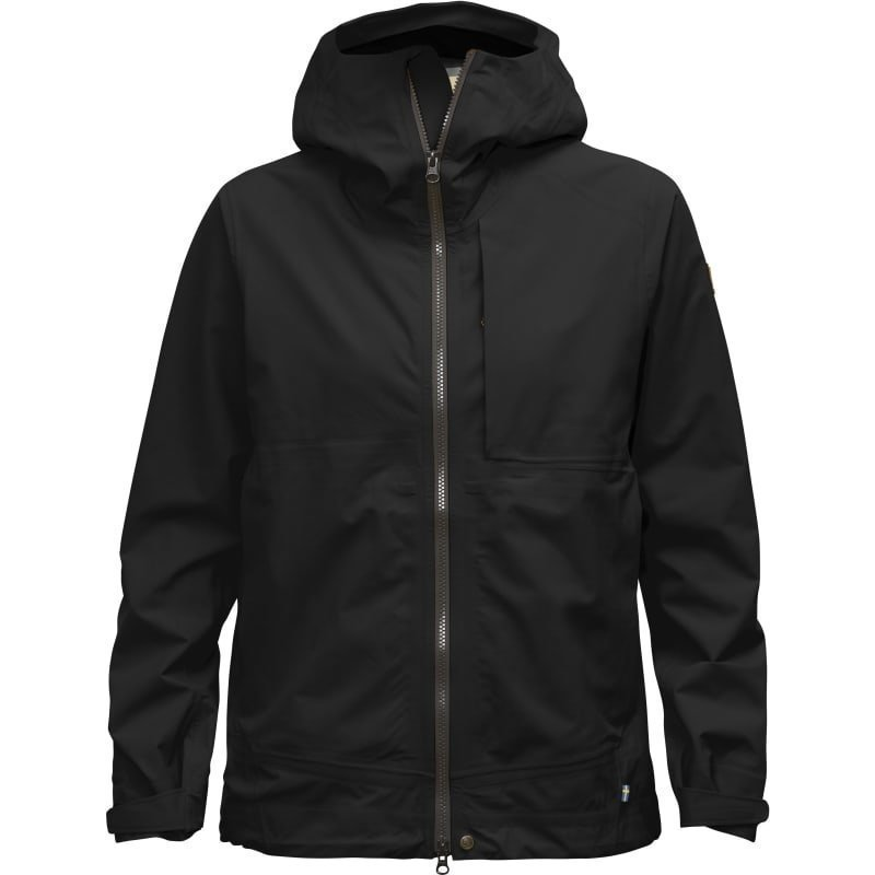 Fjällräven Abisko Eco-Shell Jacket W XS Black