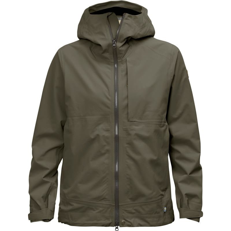 Fjällräven Abisko Eco-Shell Jacket W XS Tarmac