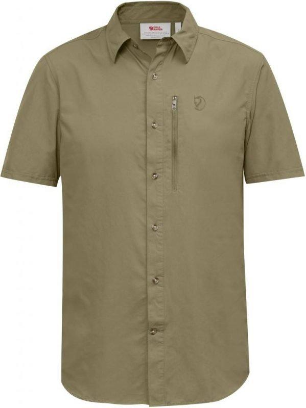 Fjällräven Abisko Hike Shirt SS Beige L
