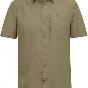 Fjällräven Abisko Hike Shirt SS Beige M