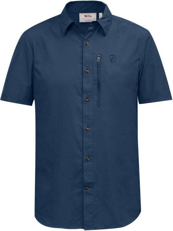 Fjällräven Abisko Hike Shirt SS Sininen L