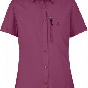 Fjällräven Abisko Hike Shirt SS Women Plum XL