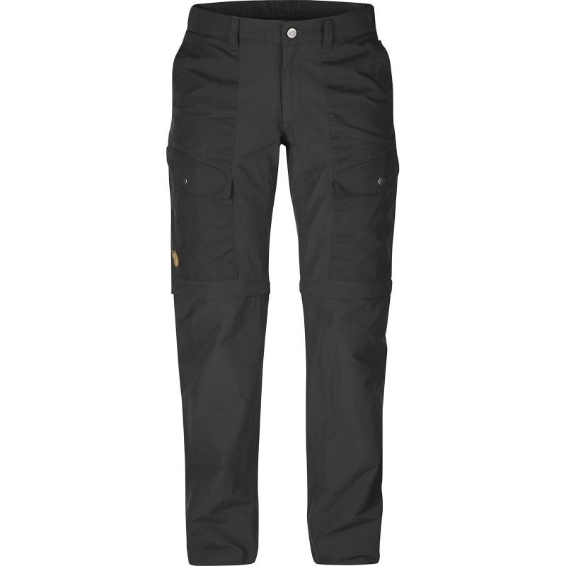 Fjällräven Abisko Hybrid Zip Off Trousers W 44 Dark Grey