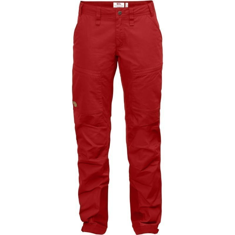 Fjällräven Abisko Lite Trekking Trousers W 42 (REGULAR) Red