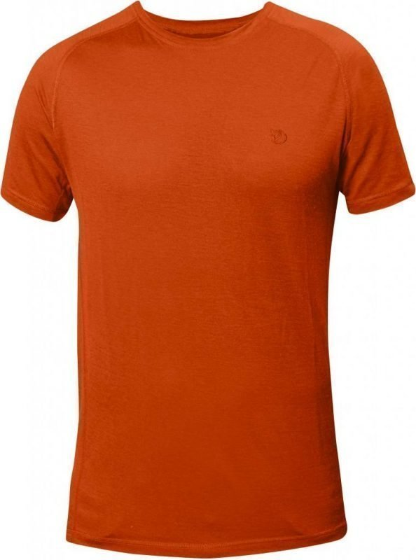 Fjällräven Abisko Trail T-shirt Oranssi S