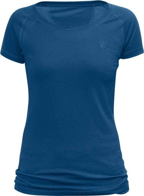 Fjällräven Abisko Trail Women's T-shirt Lake blue XXL