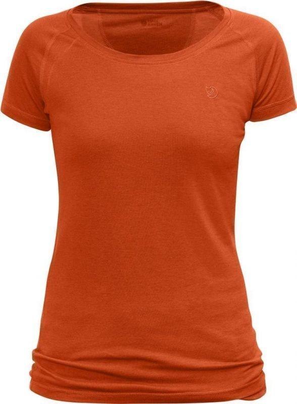 Fjällräven Abisko Trail Women's T-shirt Oranssi L