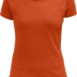 Fjällräven Abisko Trail Women's T-shirt Oranssi XS