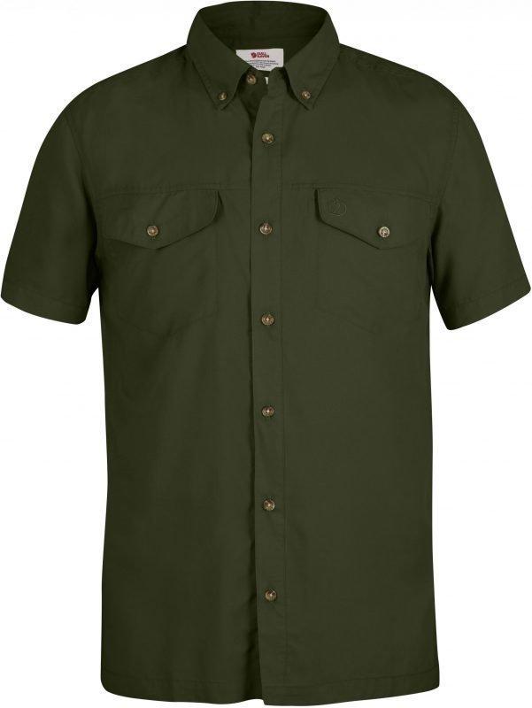 Fjällräven Abisko Vent SS Shirt Vihreä XL