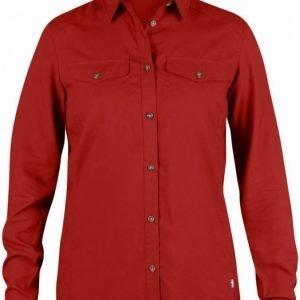 Fjällräven Abisko Vent Shirt LS Women Punainen S