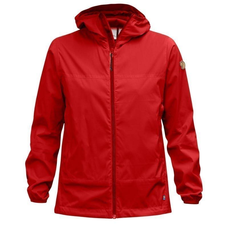 Fjällräven Abisko Windbreaker Jacket W M Red