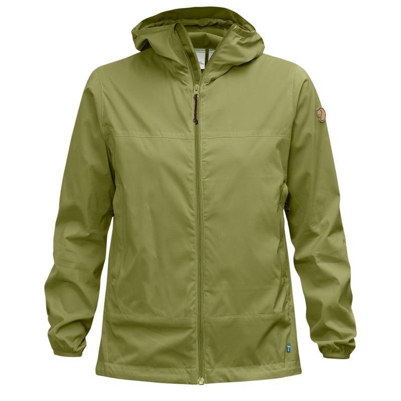 Fjällräven Abisko Windbreaker Jacket W S Meadow Green