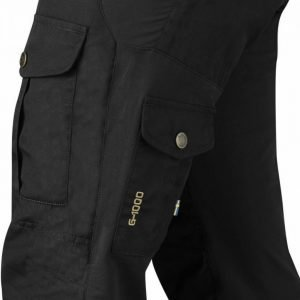Fjällräven Alta Trousers Musta 34