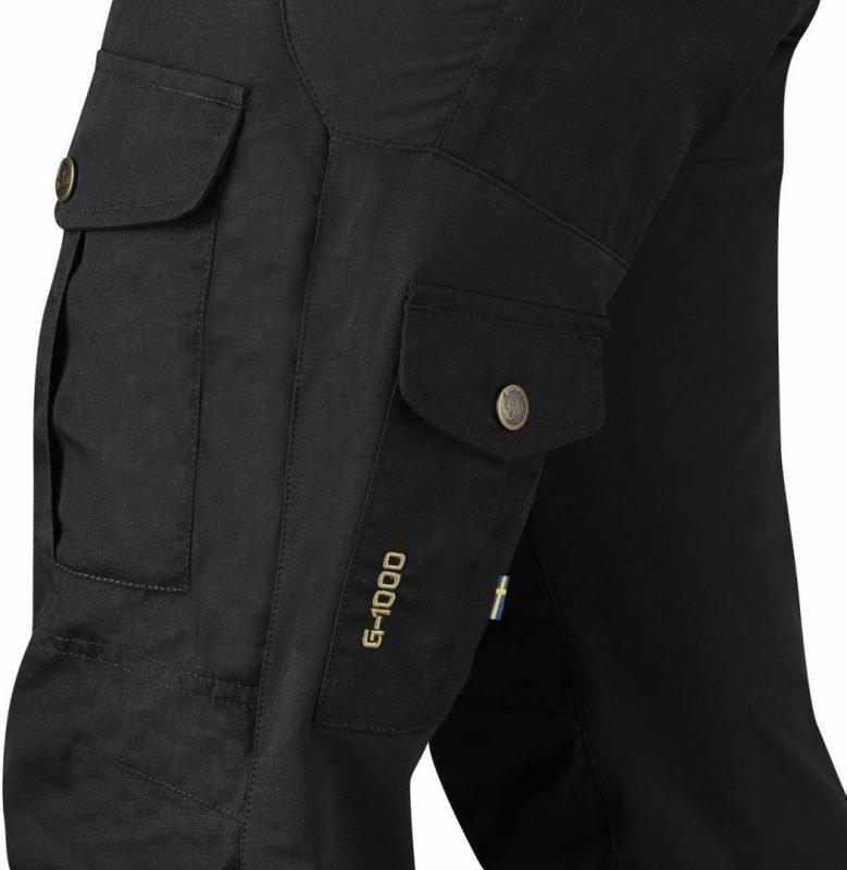 Fjällräven Alta Trousers Musta 36