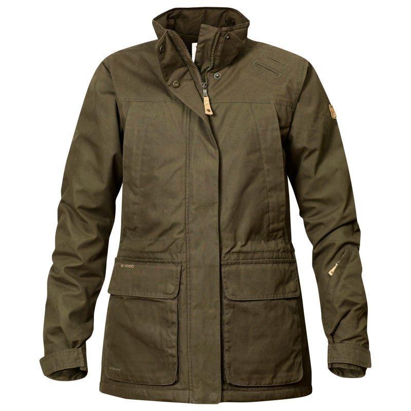 Fjällräven Brenner Pro Padded Jacket W S Dark Olive