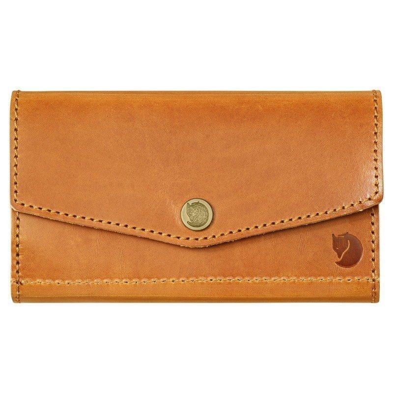 Fjällräven Bullet Case 1SIZE Leather Cognac