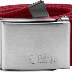 Fjällräven Canvas Belt 4 cm Deep Red