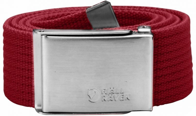 Fjällräven Canvas Belt 4 cm Deep Red