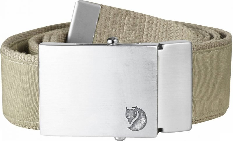 Fjällräven Canvas Belt 4 cm Light Khaki