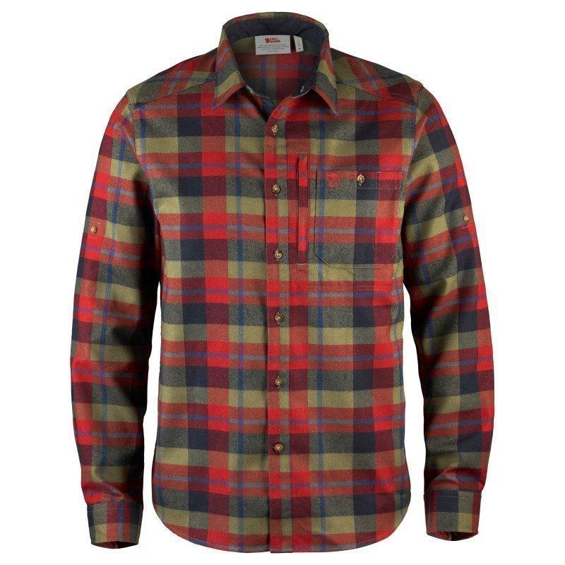 Fjällräven Fjällglim Shirt M Deep Red