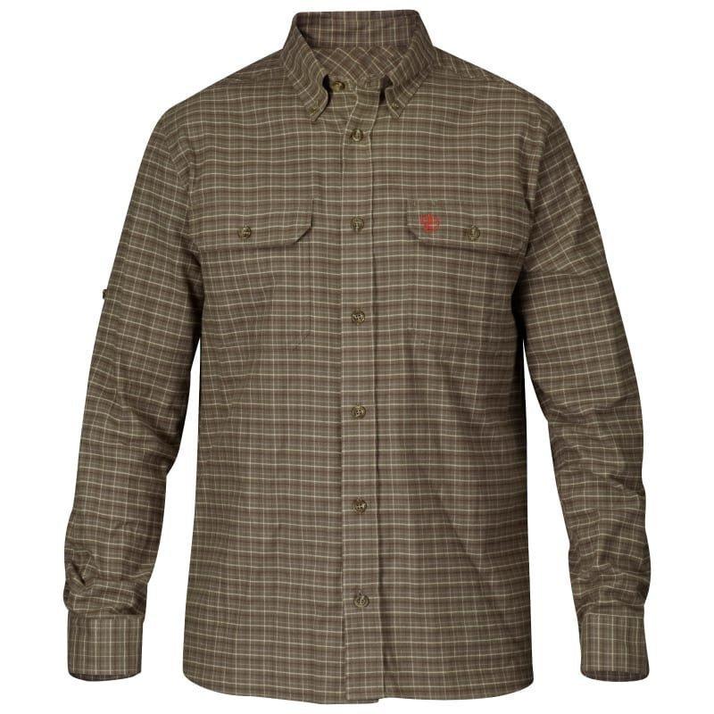 Fjällräven Forest Flannel Shirt M Dark Olive