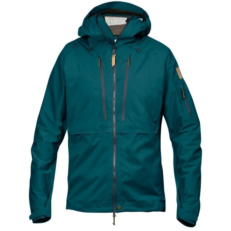 Fjällräven Keb Eco-Shell Jacket M Glacier Green