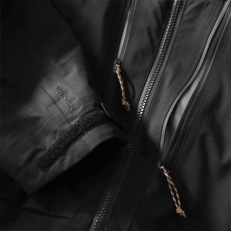 Fjällräven Keb Eco-Shell Jacket Musta L