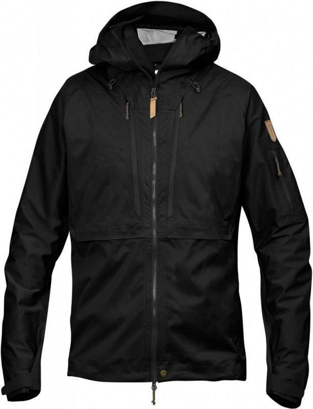 Fjällräven Keb Eco-Shell Jacket Musta M