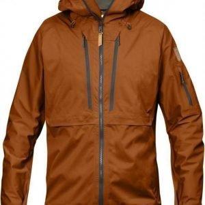 Fjällräven Keb Eco-Shell Jacket Tumma oranssi XL