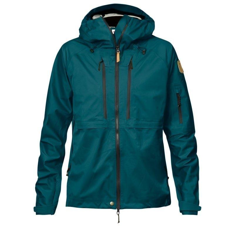 Fjällräven Keb Eco-Shell Jacket W L Glacier Green