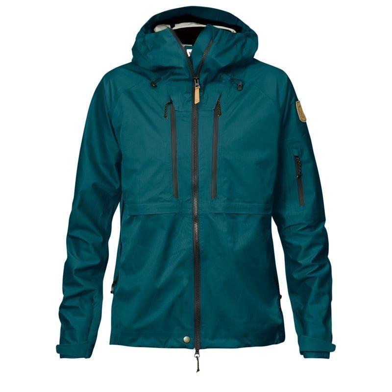 Fjällräven Keb Eco-Shell Jacket W M Glacier Green