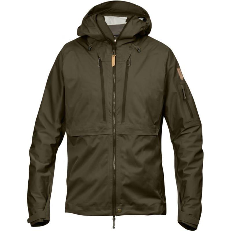 Fjällräven Keb Eco-Shell Jacket XS Dark Olive