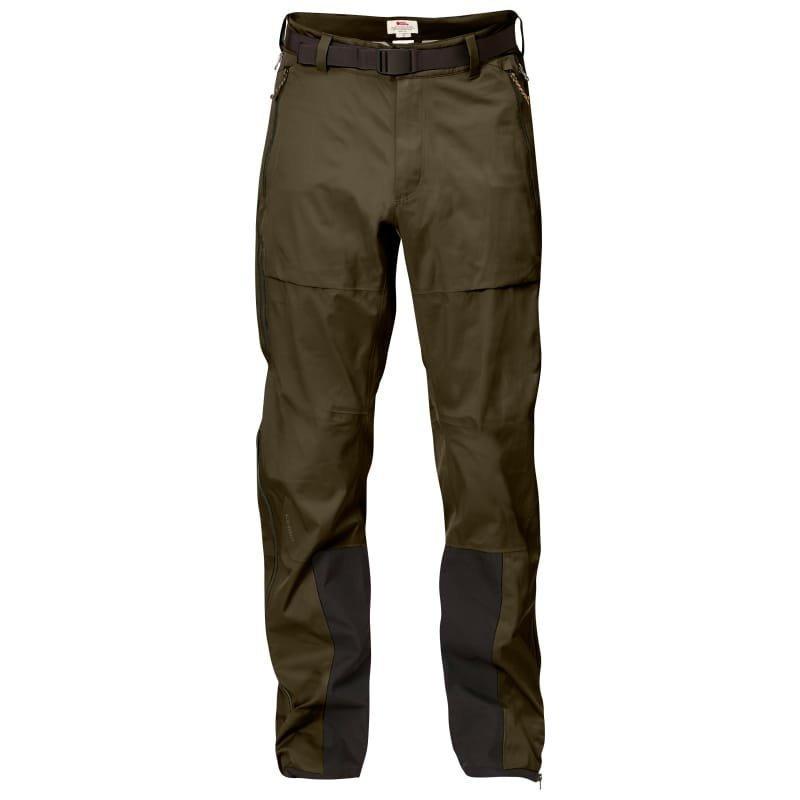 Fjällräven Keb Eco-Shell Trousers S Dark Olive