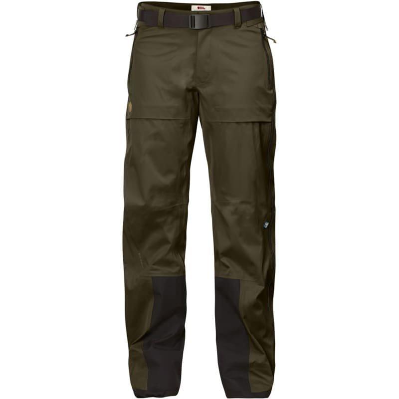 Fjällräven Keb Eco-Shell Trousers W L Dark Olive