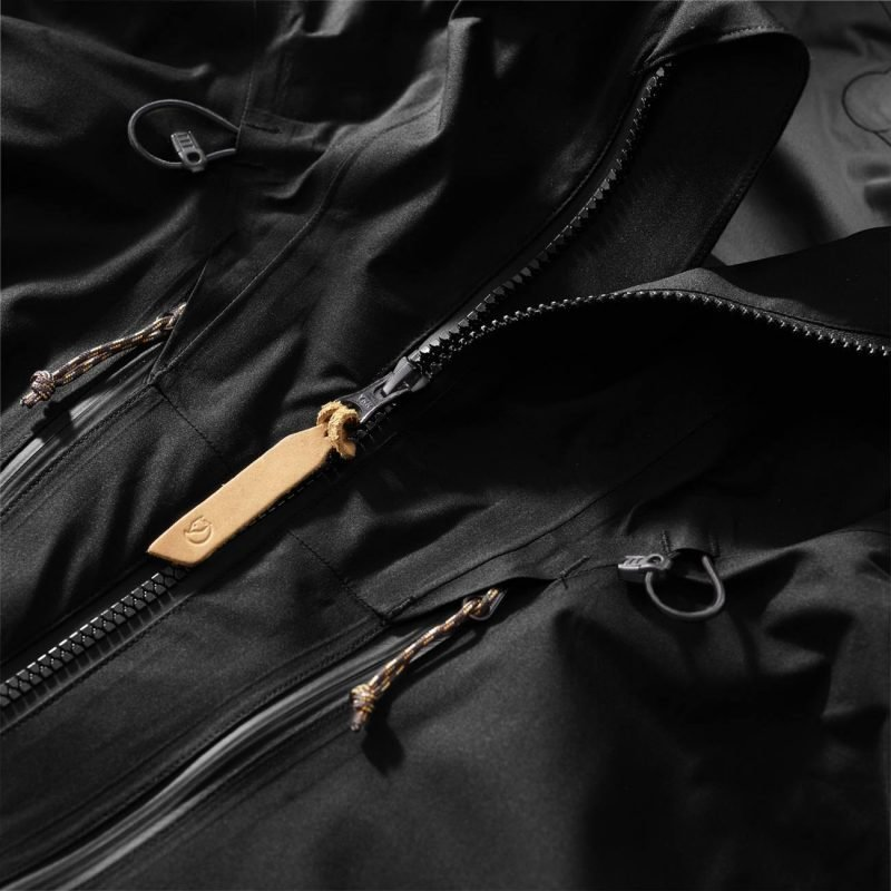 Fjällräven Keb Eco-Shell Women's Jacket Musta XS