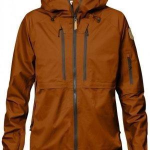 Fjällräven Keb Eco-Shell Women's Jacket Tumma oranssi S
