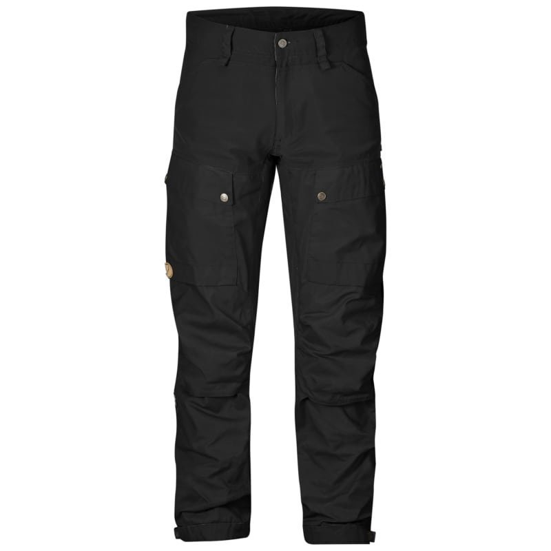 Fjällräven Keb Trousers Long 48 Black/Black