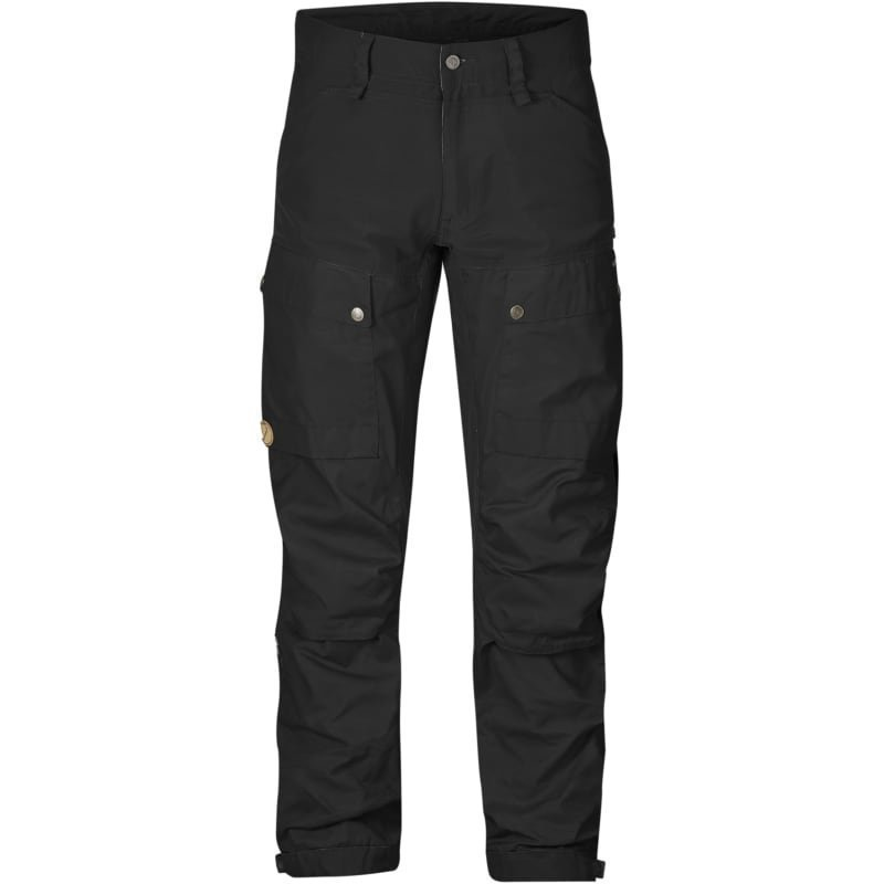Fjällräven Keb Trousers Regular 60 Black-Black