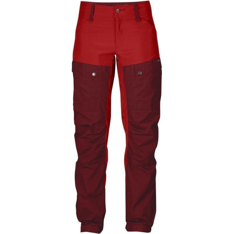 Fjällräven Keb Trousers W Curved 34 (REGULAR) Ox Red