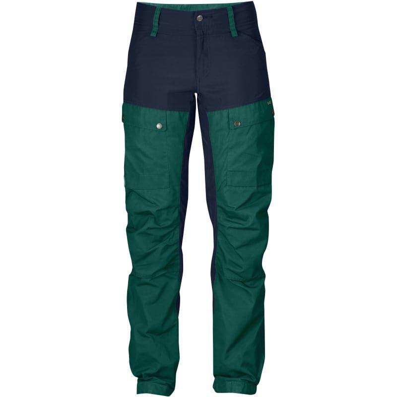 Fjällräven Keb Trousers W Curved 36 (REGULAR) Glacier Green