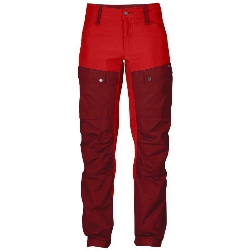 Fjällräven Keb Trousers W Short 34 Ox Red