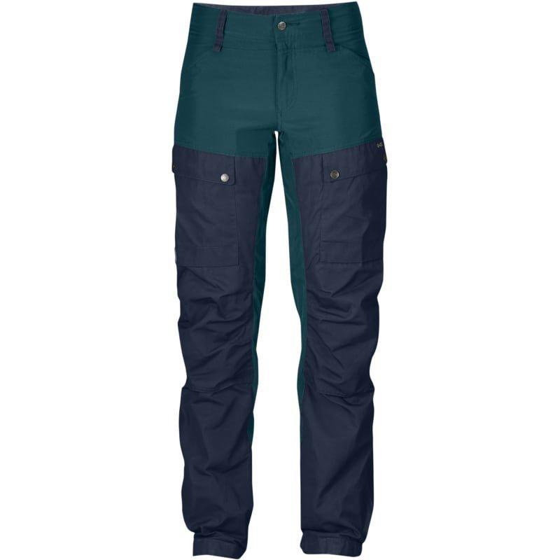 Fjällräven Keb Trousers W Short 34 (REGULAR) Glacier Green