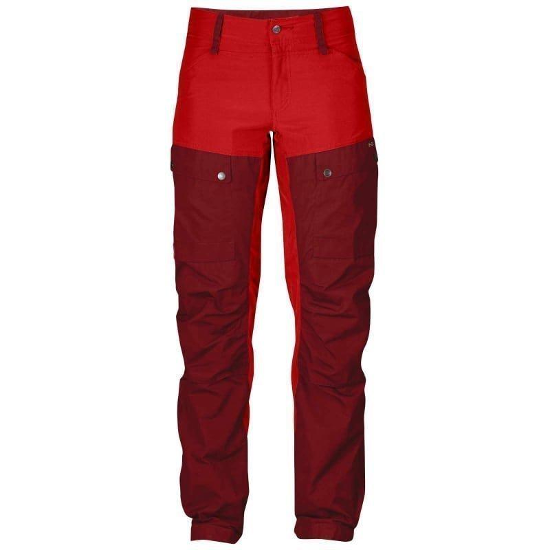 Fjällräven Keb Trousers W Short 42 Ox Red