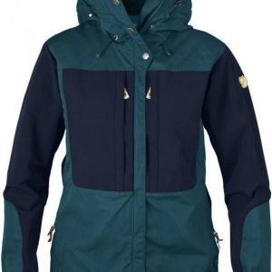 Fjällräven Keb Women's Jacket Glacier green / Navy XL