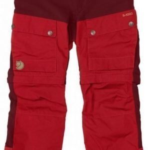 Fjällräven Kids Keb Gaiter Trousers Ox red 134