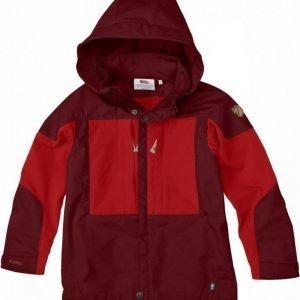 Fjällräven Kids Keb Jacket Ox red 128