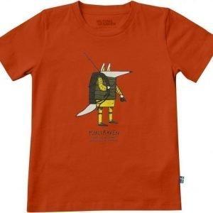 Fjällräven Kids Trekking Fox T-Shirt Flame 140
