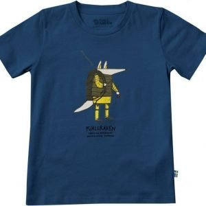Fjällräven Kids Trekking Fox T-Shirt Sininen 134